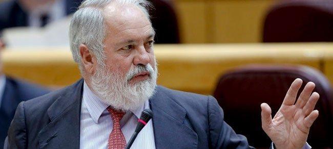 El Ministro Miguel Arias Cañete. (EFE)