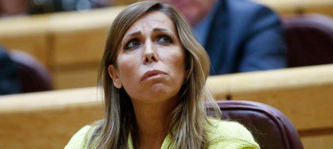 Alicia Sánchez-Camacho en el Senado (Efe)