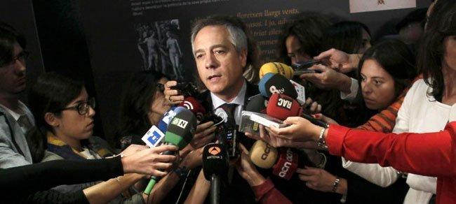 Pere Navarro, tras la decisión del PSC de romper la disciplina de voto por la moción sobre el derecho a decidir