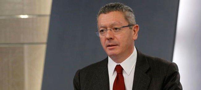 El Ministro de Justicia, Alberto Ruiz-Gallardón (EFE)