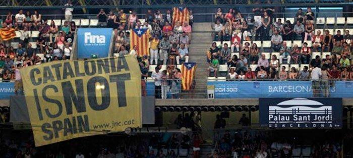 Ceremonia inaugural de los mundiales de natación Barcelona 2013 (EFE)