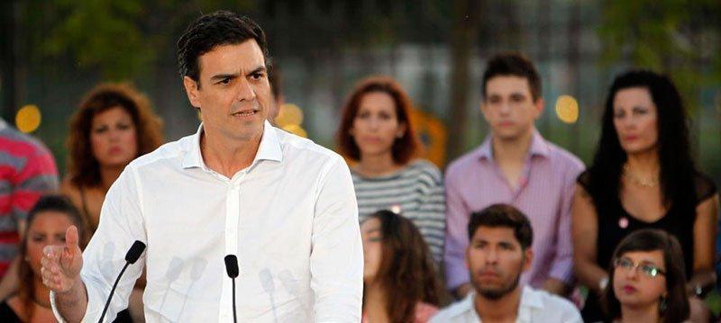 Pedro Sánchez en Sevilla (EFE)