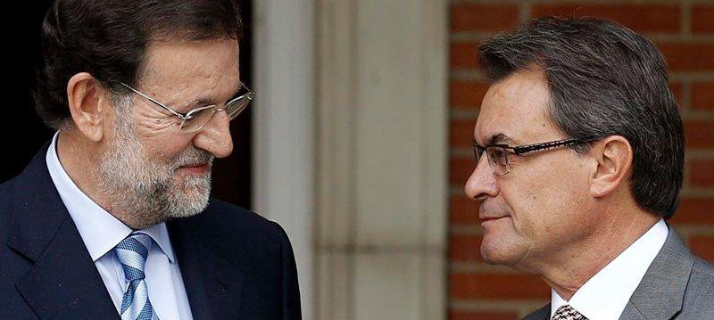 Mariano Rajoy y Artur Mas en una foto de archivo (EFE)