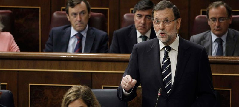 Mariano Rajoy en el Congreso (Efe)