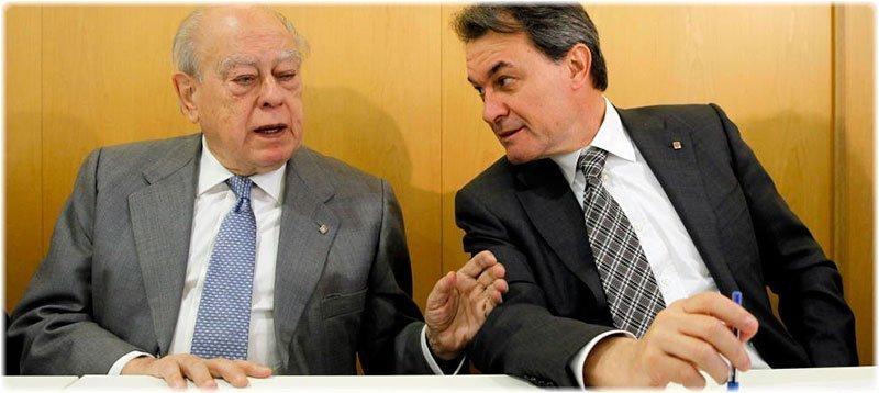 Jordi Pujol y Artur Mas durante una reciente ejecutiva de CDC (EFE)