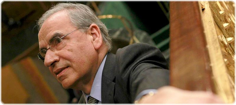 Alfonso Guerra en el Congreso de los Diputados, en 2011 (EFE)