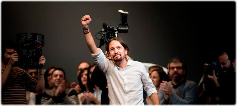 Pablo Iglesias, elegido secretario general de Podemos. (Foto: Daniel Muñoz)