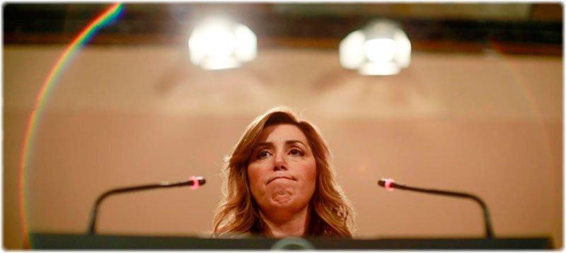 La Presidenta de la Junta de Andalucía, Susana Díaz (Efe)