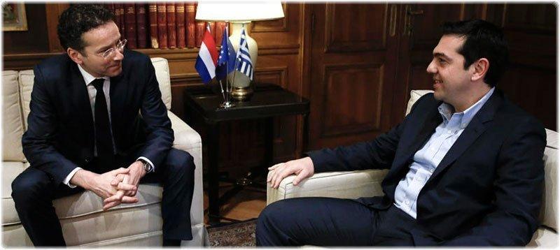 El presidente del Eurogrupo, Jeroen Dijsselbloem, se entrevistó este viernes con Alexis Tsipras en Atenas. (Gtres)