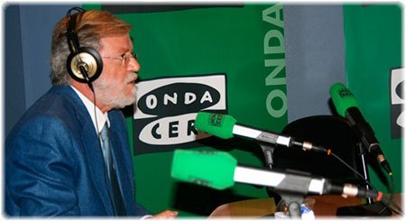 Rodríguez Ibarra en Julia en la onda | Foto: Onda Cero