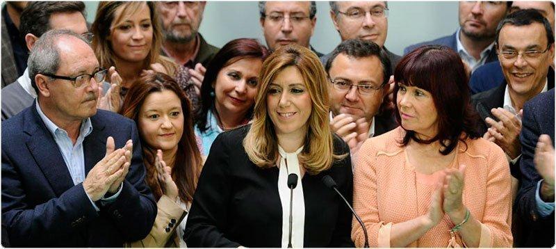La presidenta de la Junta de Andalucía en funciones, Susana Díaz. (Efe)