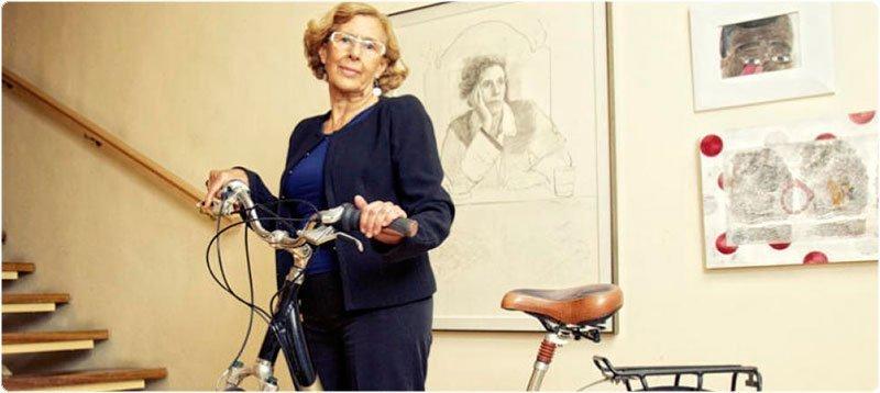 Manuela Carmena, candidata en las primarias de Ahora Madrid para la alcaldía de la capital. (Efe)