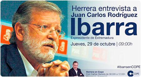 Entrevista a Rodríguez Ibarra con Carlos Herrera