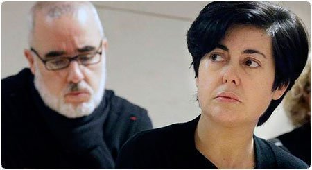 Rosario Porto y Alfonso Basterra. EFE