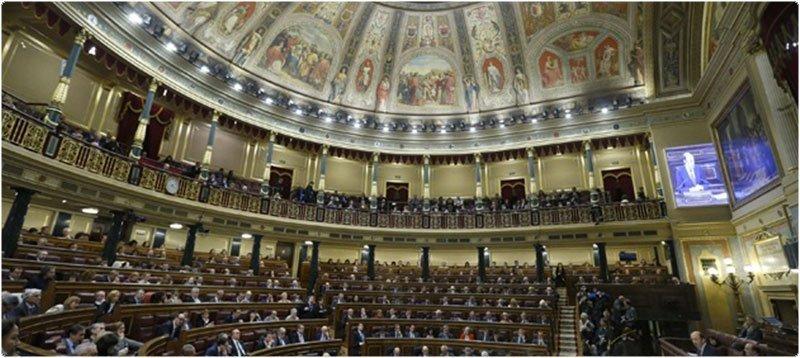 Congreso de los Diputados. Foto: EFE