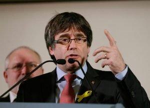 Carles Puigdemont, expresidente de la Generalitat de Cataluña. Virginia Mayo (AP)