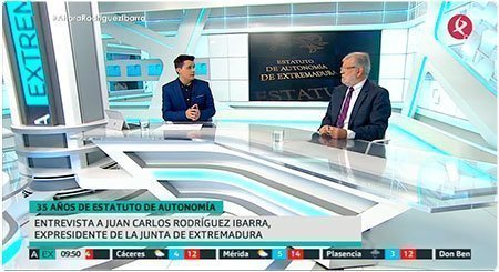 Entrevista a JCRI en Ahora Extremadura