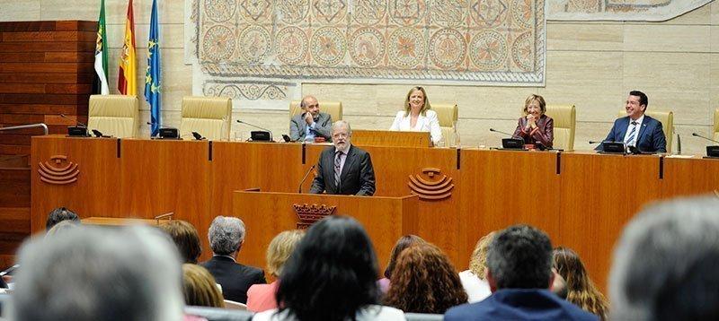 Discurso de JCRI en el acto de conmemoración del 35 aniversario de la Asamblea de Extremadura
