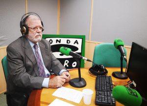 JCRI durante la entrevista en Onda Cero con Carlos Alsina