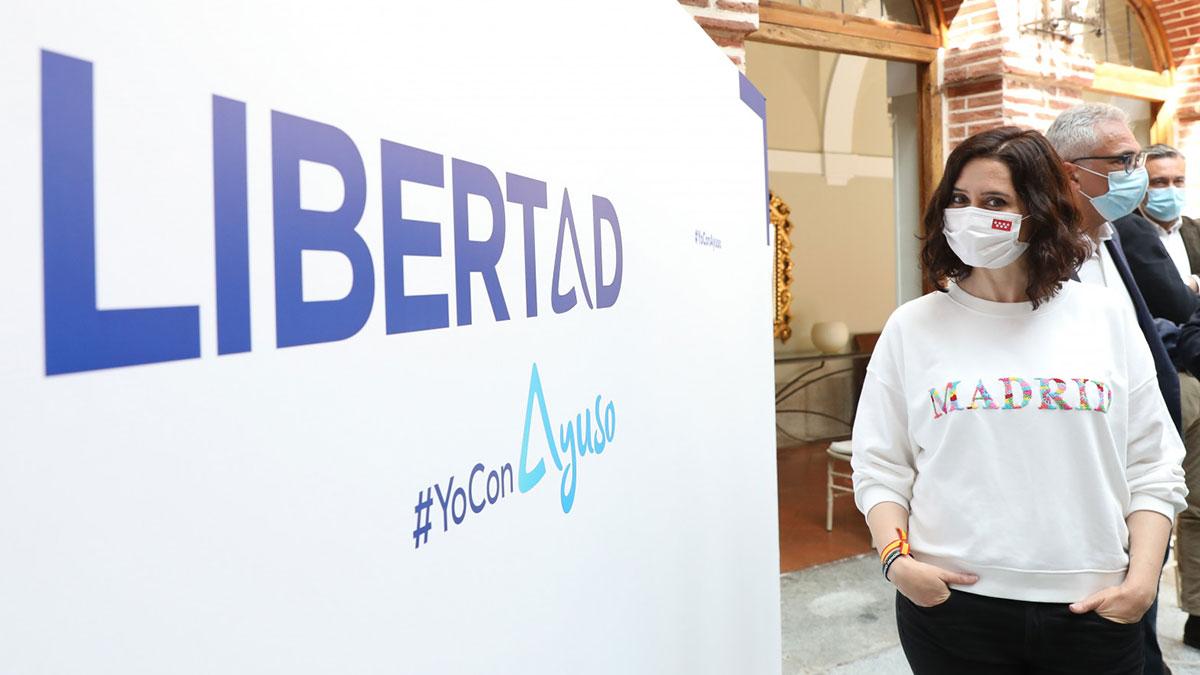 La presidenta de la Comunidad de Madrid y candidata a la reelección, Isabel Díaz Ayuso. Europa Press