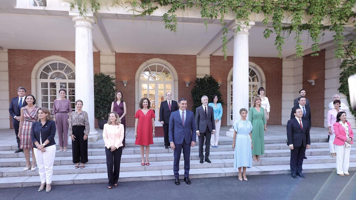 Primer Consejo de Ministros tras la remodelación del Gobierno.