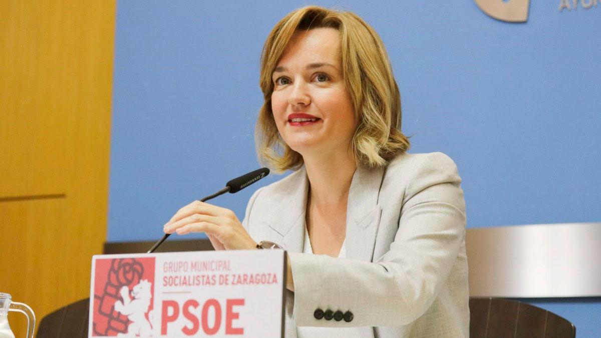 La ministra de Educación, Pilar Alegría. EP